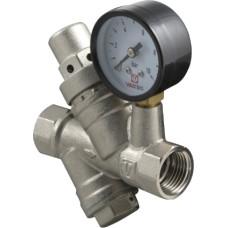 Редуктор тиску з фільтром і манометром VALTEC VT.082.N.04, G1/2