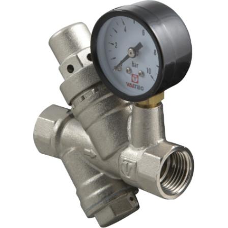 Редуктор тиску з фільтром та манометром VALTEC VT.082.N.04, G1/2