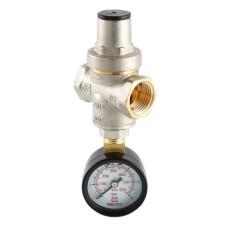 Редуктор тиску поршневий з манометром VALTEC VT.088.N.0455, G1/2