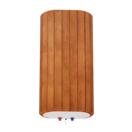 Декоративный чехол для бойлера WILLER EV50DR Grand (Деревянные рейки; 927*902мм; №38)