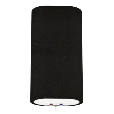Декоративний чохол для бойлера WILLER EV50DR Grand (Габардин чорний / 927х902мм / 65-5)