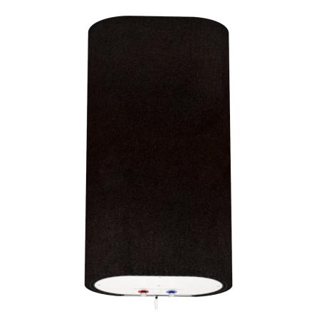 Декоративний чохол для бойлера WILLER EV50DR Grand (Креп-сатин чорний / 927х902мм / 66-5)