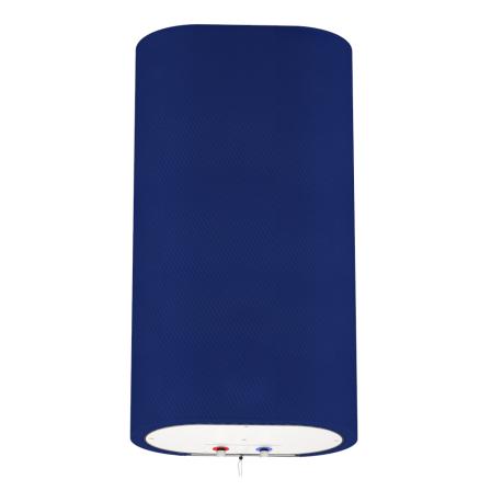 Декоративный чехол для бойлера WILLER EV50DR Grand (Диагональ синяя / 927х902мм / 68-5)
