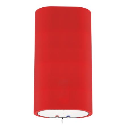 Декоративный чехол для бойлера WILLER EV80DR Grand (Диагональ красная / 1100х990мм / 70-8)