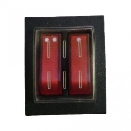 Перемикач потужності двійний для серій Elegance, Flat, Uni, Ultra (220V 20A)